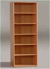 Tempra Bookcase Bookshelf Shelving Unit Shelves for Filing Office or Home