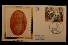 MONACO PREMIER JOUR FDC YVERT  1272    MOZART     3,50F    1981