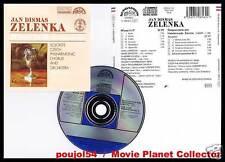 "ZELENKA ""Missa in D - Responsoria"" (CD) Belohlavek 1990"
