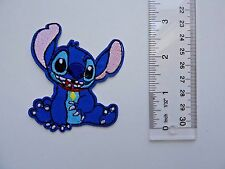 Disney STITCH Embroidered Applique Iron On/Sew On Patch