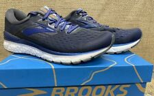 NIB Brooks 110299 Men's Transcend 6 Ebony/Blue/Mandarin Athletic Shoe