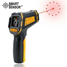 Digital Infrared Thermometer Laser Temperature Meter Non Contact Ir Lcd Alarm