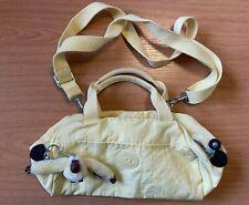 Kipling Lemon Mini Over the Shoulder Bag Sophie Keyring