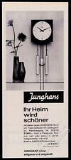 1963 Junghans clock photo German vintage print ad