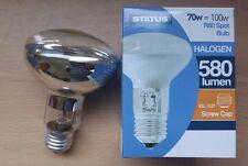 4 x 70w ES Screw In E27 Spotlight Reflector Halogen Light Bulbs Lamp R80 Bulbs