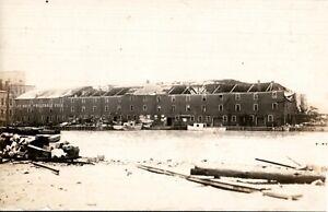 RP Postcard SANDUSKY Ohio/OH  Lay Brothers Wholesale Fish Warehouse 1920's  cti3