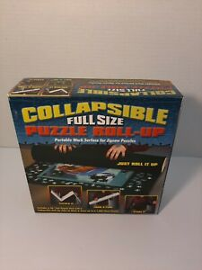Collapsible Puzzle Roll-Up * New Open Box * Full Size * Up To 1000 Piece Puzzle