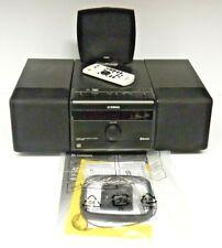 YAMAHA MCR-B020 BLACK MICRO COMPONENT SYSTEM INCLUDES DIGITAL ANTENNA & REMOTE