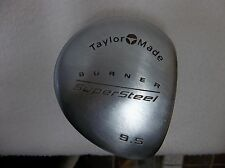 *Taylor Made Burner 9.5* Super Steel Driver RH Men's