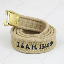 British Lee Enfield Rifle Sling - Khaki WW2 Repro Gun Carrier Webbing Strap New