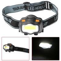 Bright Waterproof Head Torch Headlight LED Flashlight Headlamp Camping Outdoor
