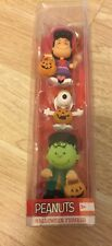 **Peanuts 2016, HALLOWEEN toy FIGURES Lucy Snoopy Charlie Brown; new in package