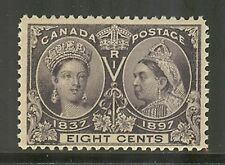 Canada # 56, 1897 8c Queen Victoria - Diamond Jubilee Issue, Unused Never Hinged