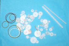 Zahnräder-riemenscheibe Plastic Different Sizes 80. st Modelmaking/RC Etc