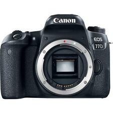Canon EOS 77D DSLR Camera Black Body Only (Multi Language) New