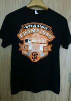 Nice souvenir  2014 SF Giants World Series Champions Graphics Size L Tee Shirt