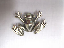 NEW REALISTIC JUNGLE TREE FROG CAST USA PEWTER PENDANT ADJ CORD REPTILE NECKLACE