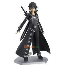 SAO Sword Art Online Kirigaya Kazuto Kirito Figma PVC Action Figure In Box Xmas