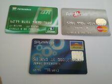 Brazil - Credit Card - Losango, MasterCard, Aura - 3 Cards