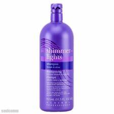 Clairol Shimmer Lights Blonde & Silver Professional Enhancing Shampoo 31.5 fl oz