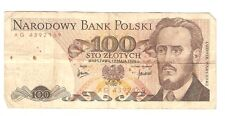 Polen Banknote 100 Zloty 1976