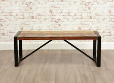 Baumhaus Urban Chic Funky Small Dining Bench - Reclaimed Wood