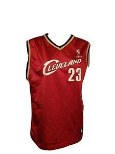 Cleveland Cavaliers Lebron James Reebok Cavs Basketball Jersey Red Womens XL NBA