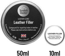 Leather Repair CRACK Filler Compound. Fill Hole, Burn, Scuff in Sofa, Car etc