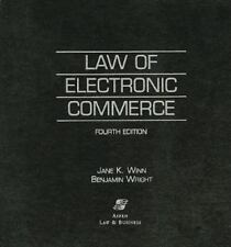 Book Law of Electronic Commerce Kaufman Winn Wright 2000 Ringbound Professional