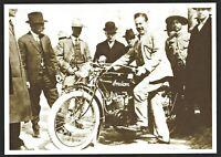 ⫸ 969 Postcard Pancho Villa on Indian Motorcycle - 1914 Photo, Underwood