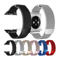 Milanese Stainless Steel Watch Strap For Apple Watch Band iWatch Series 4 3 2