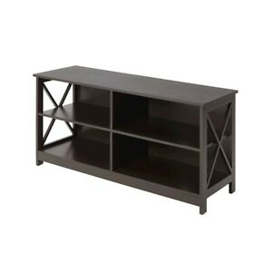 Convenience Concepts Oxford TV Stand, Espresso - 203055ES