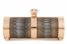 STARK FIERCE PYTHON BOX CLUTCH