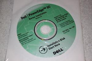 BRAND NEW GENUINE Dell Poweredge SC Server Installation CDs Version 2.5