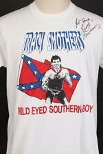 Vintage NWA TRACY SMOTHERS Wild Eyed Southern Boy Wrestling T-Shirt Mens Size XL