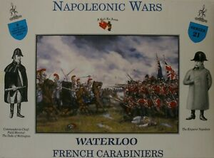 A Call To Arms 1/32 Napoleonic Waterloo French Carabiniers Series 21