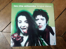 LES RITA MITSOUKO Tongue dance / remix 45T UK RARE