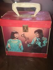 Vintage 1970s Donny And Marie Osmond 45 Rpm Record Carrying Case
