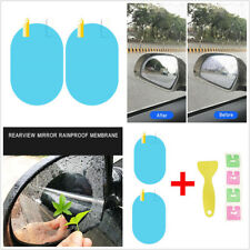 10 Pcs 10x14.5cm Car Rearview Mirror Protector Film Anti-fog Scratches Rainproof
