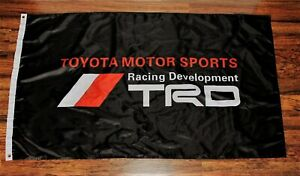 Toyota Racing Division Banner Flag TRD Motor Sports 3 x 5 Sign Motorsports New