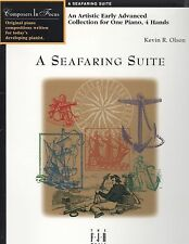 Seafaring Suite Piano Duet Early Advanced 4 Hands Kevin Olson FJH