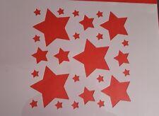 1598 Schablonen Sterne Wandtattoo Vintage Mylar Stanzschablonen Shabby Stencil