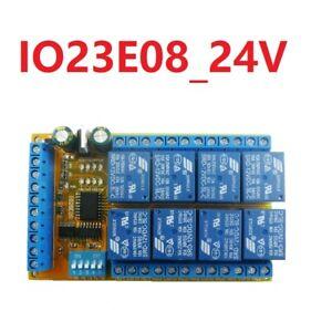 24V Delay Relay Module Latch Bistable Self-locking Interlock Power Conditioner