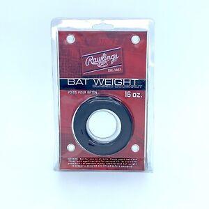 Rawlings Black Classic Doughnut Style Bat Weight (16 oz)