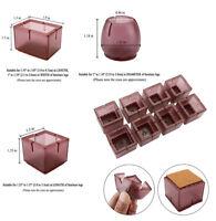 Silicone Furniture Chair Leg Caps Table Feet Cover Anti-slip Floor Protector Lot