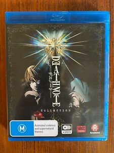Death Note: Collection 6 Disc Set Blu-ray Region B Disc's VGC Anime