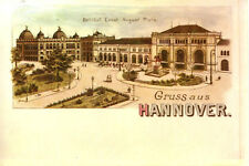 AK Hannover 1978 Litho-Reproduktion Bahnhof Ernst-August-Platz