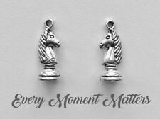 5 x Tibetan Silver CHESS PIECE KNIGHT HARRY POTTER RON WEASLEY 3D Charms