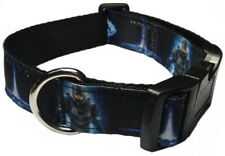 HALO VIDEO GAME STYLE DOG COLLAR OR ADD MATCHING LEASH