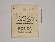 PUW winding stem 70 73 74 1075 1175 2262 tige remontoir Aufzugswelle Ronda 1183